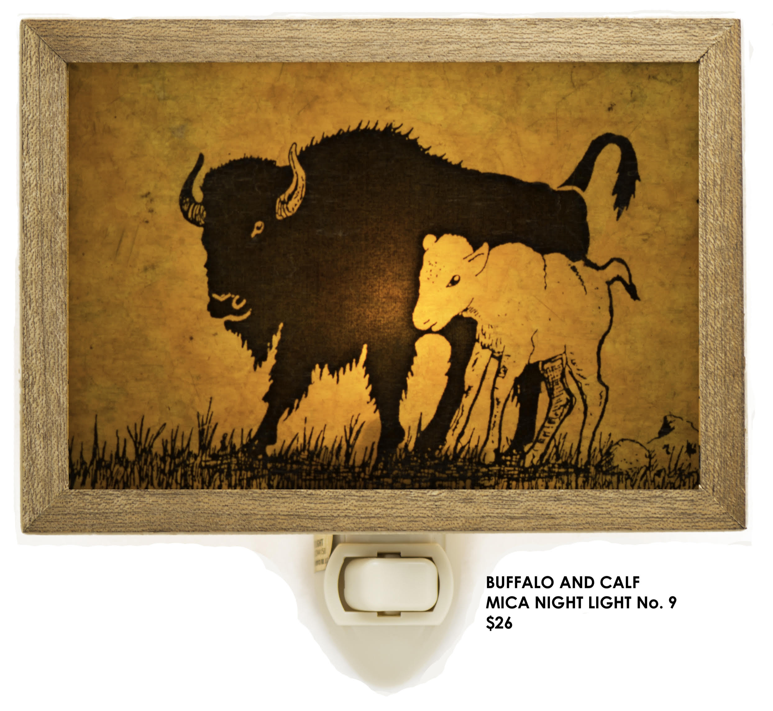 buffalo and calf #9
